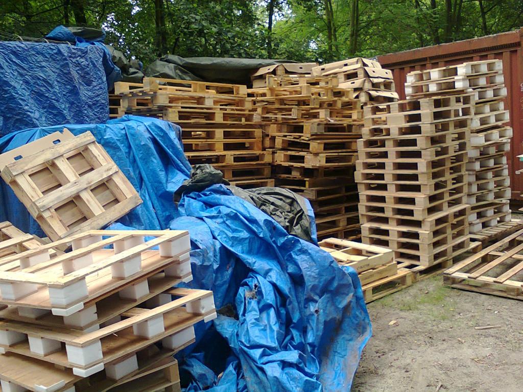 Huttenbouwdorp Noorderhout Houtploeg
